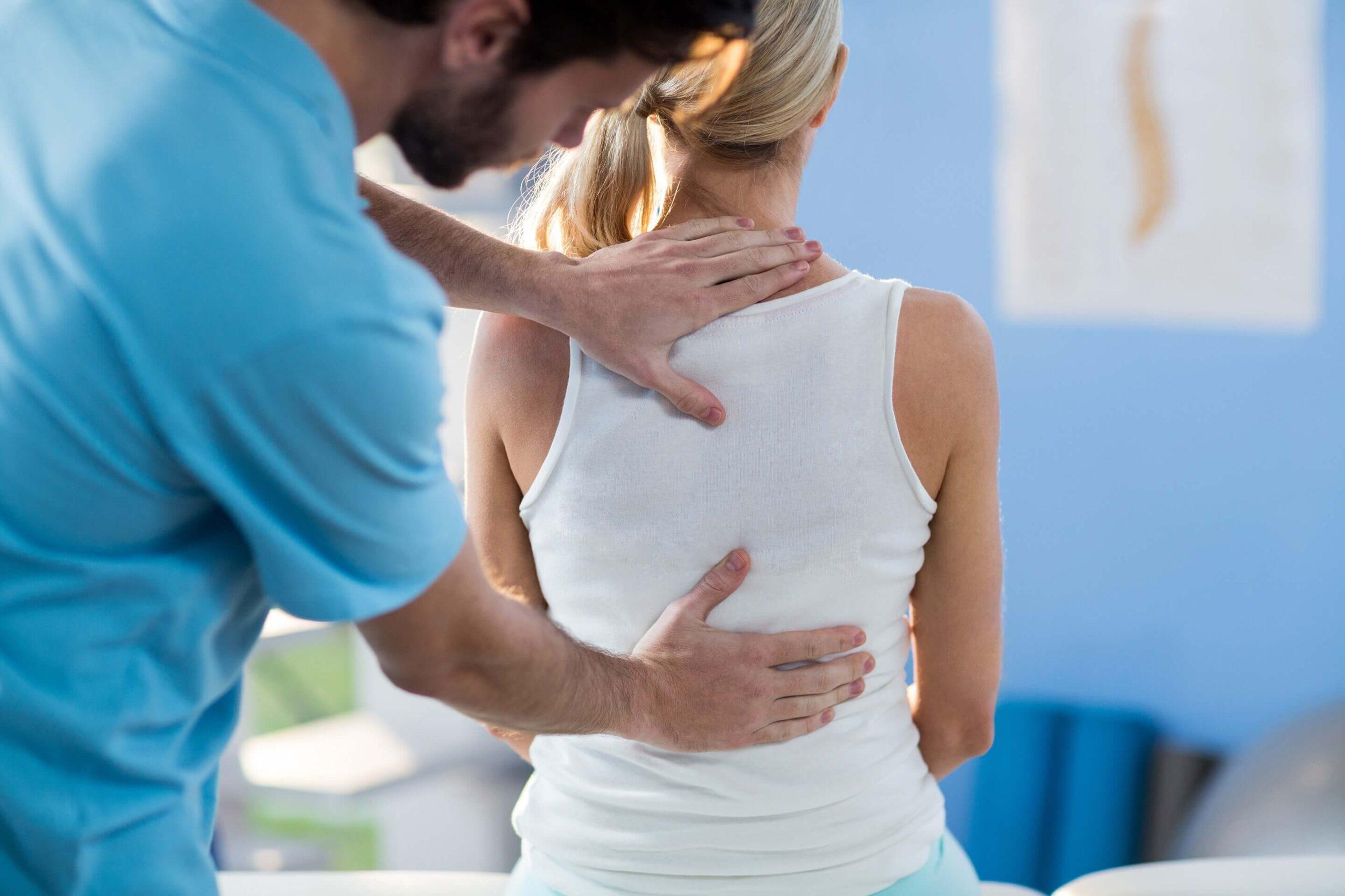 trattamento osteopatia schiena