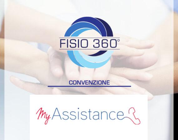 Fisio 360 tra le strutture convenzionate MyAssistance e Axa Caring
