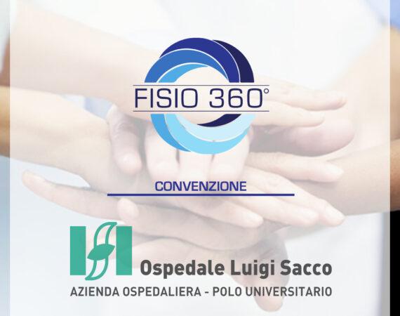 Fisio 360 e Ospedale Sacco: insieme per il vostro benessere.